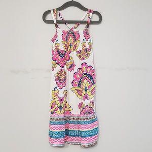 Carter's Smocked Paisley Maxi Dress 2T